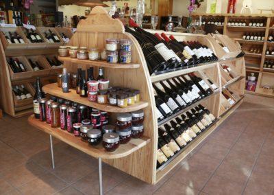 1 Agencement de boutique de vins en haute savoie