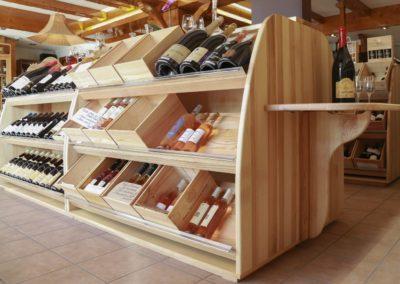 1 Agencement de magasin de vins en haute savoie